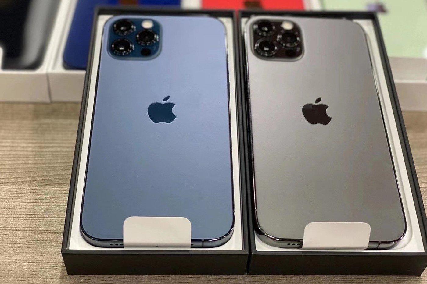 iPhone 12 Pro couleurs leak
