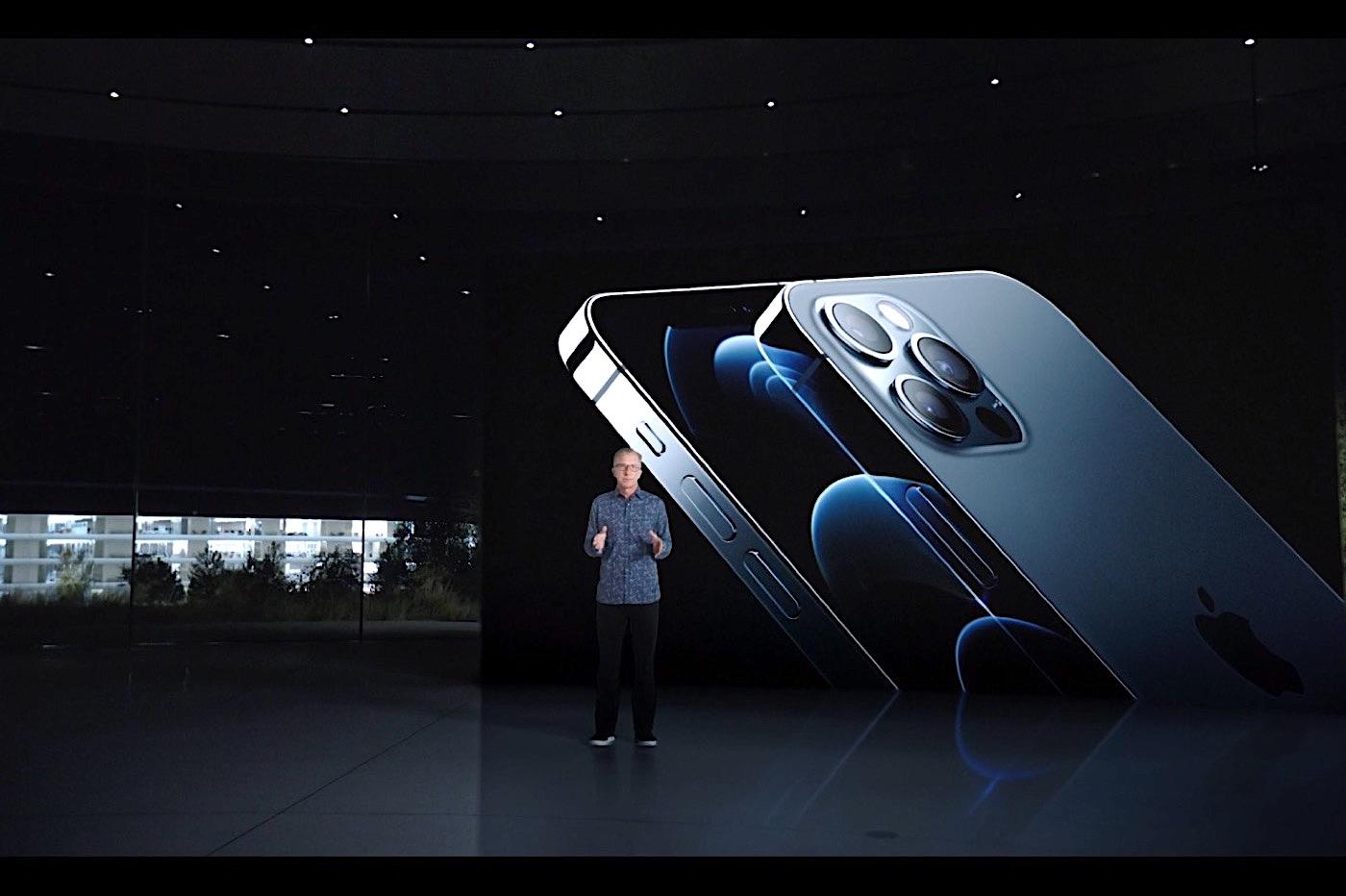 iPhone 12 Pro bleu