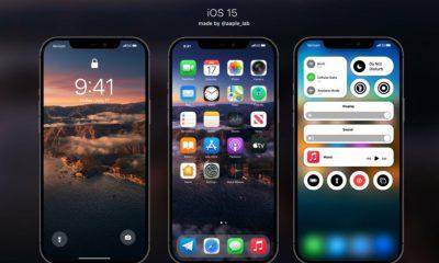 concept iOS 15 Apple