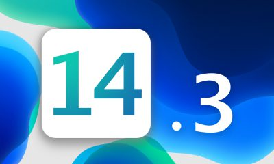 iOS 14.3 bleu
