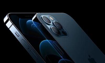 iPhone 12 Pro Bleu Pacifique avant arrière