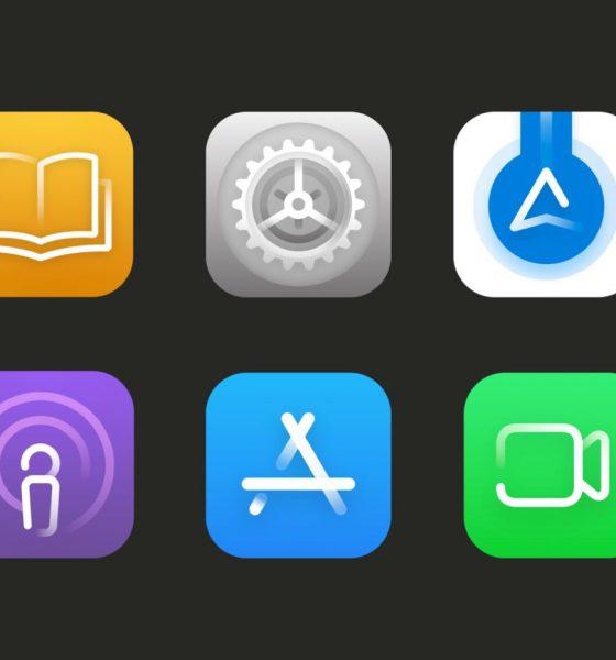 Nouvelles icônes iOS