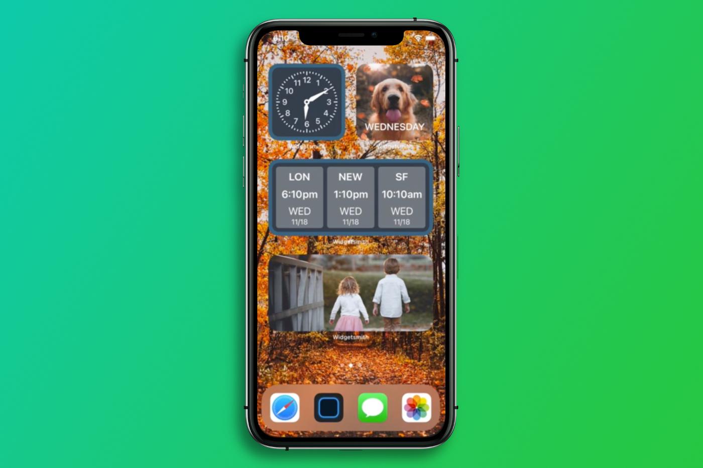 Widgetsmith 2.0 sur iOS