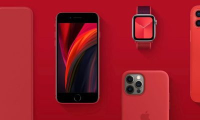 Apple product - RED