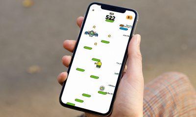 Jeu iOS Doodle Jump 2