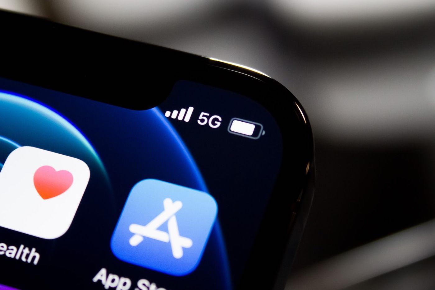 iPhone et 5G