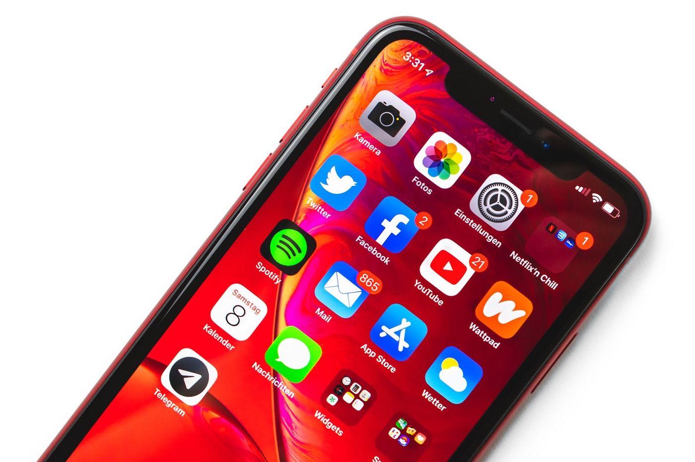 iPhone et App Store