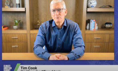 Tim Cook World Climate Summit