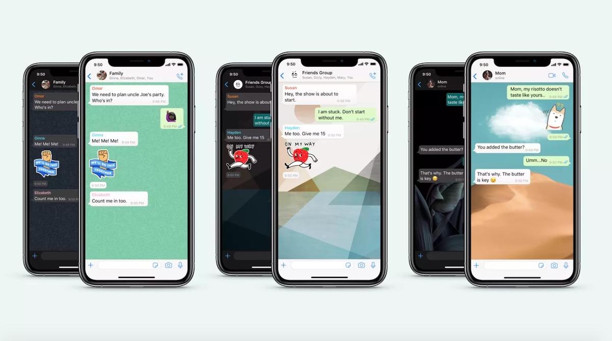 WhatsApp fond ecran 2020