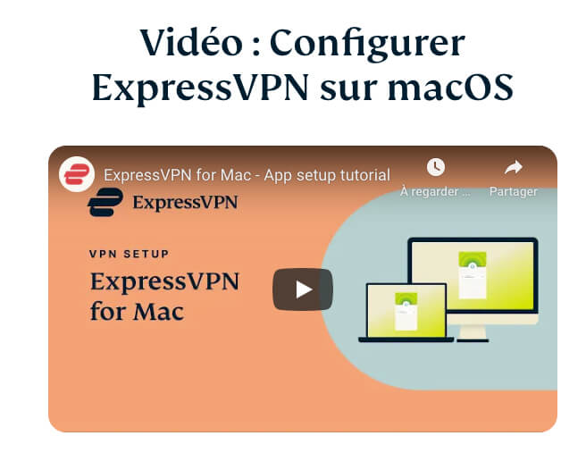 Configurer ExpressVPN