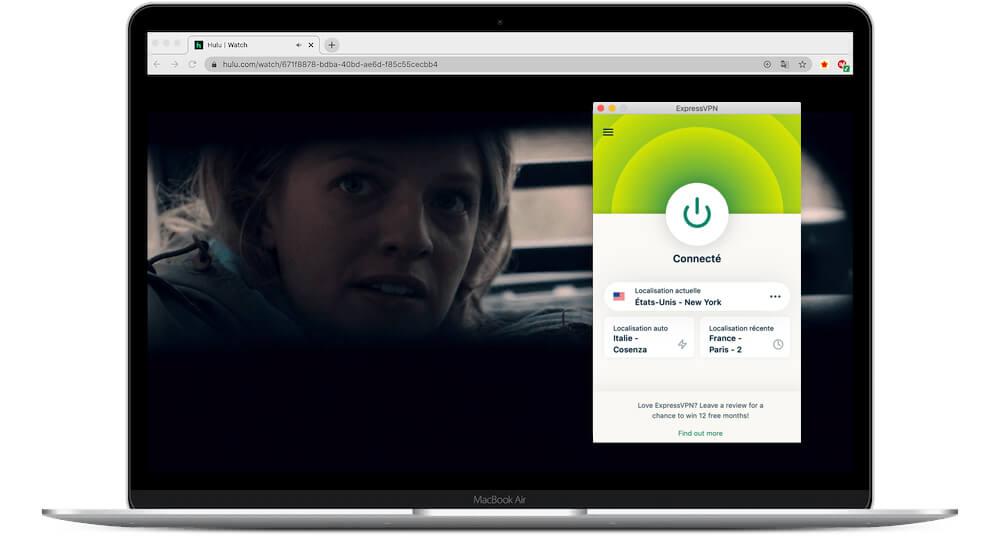 ExpressVPN acces Hulu