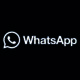 WhatsApp noir