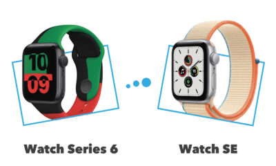 Comparatif Apple Watch Seris 6 vs Apple Watch SE