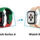 Comparatif Apple Watch Seris 6 vs Apple Watch SE