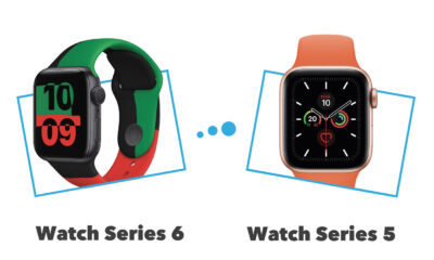 Apple Watch Series 5 vs Apple Watch Series 6 : comparatif et différences