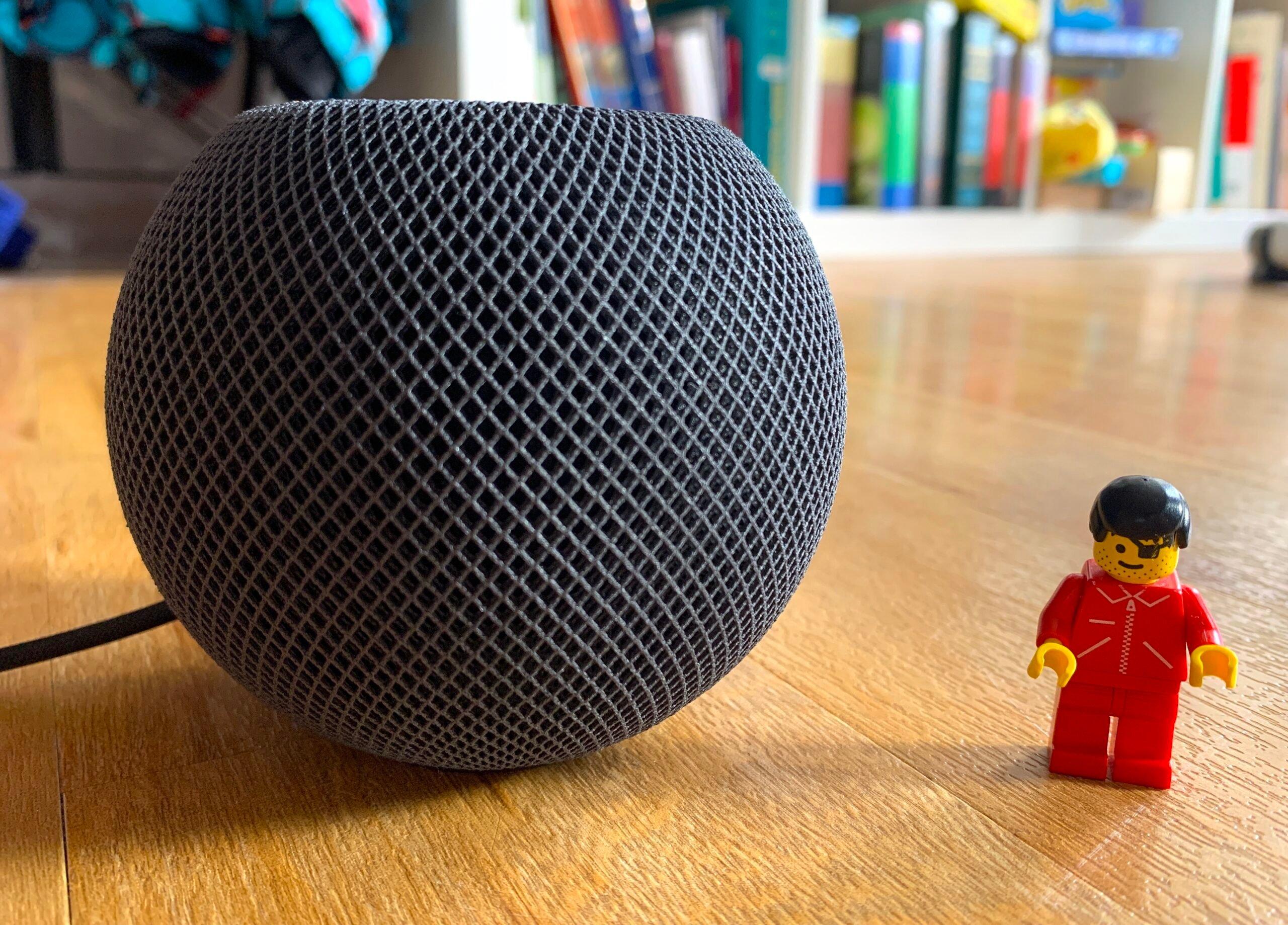 HomePod mini et Lego