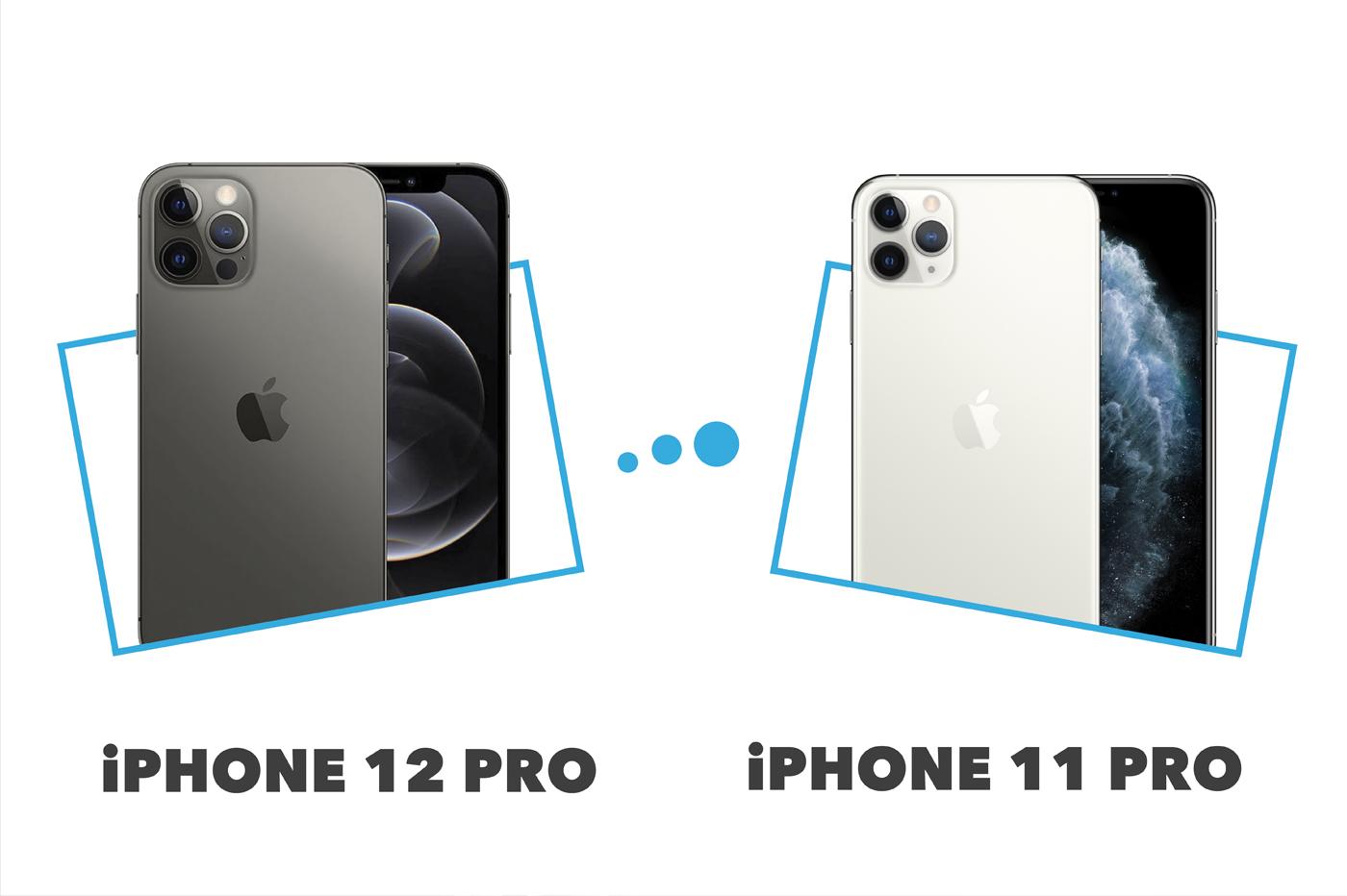Comparatif iPhone 12 Pro vs iPhone 11 Pro