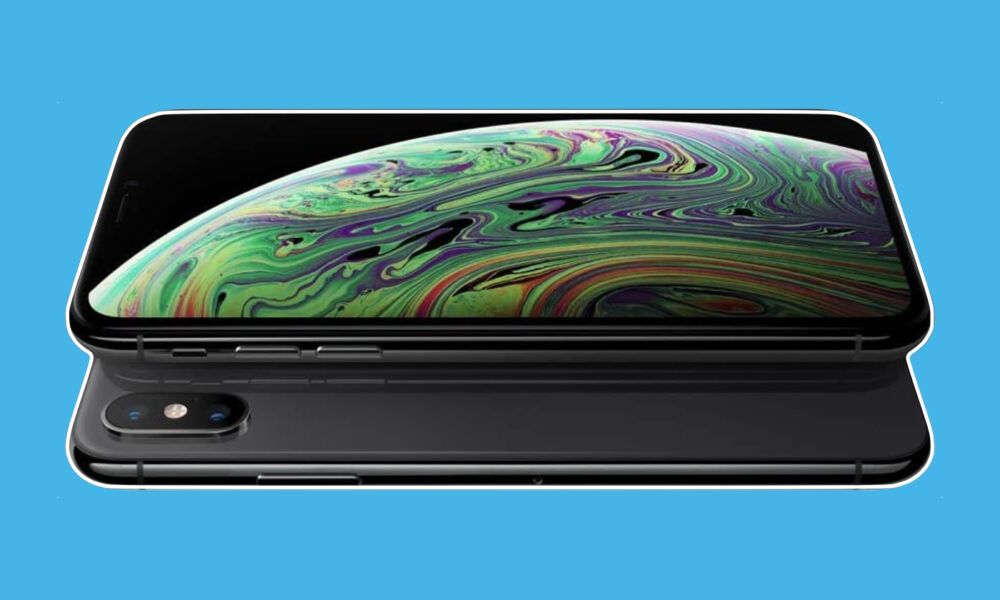 iPhone XS 64 Go Gris sidéral