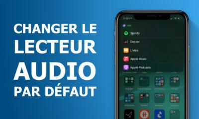Lecteur audio par défaut dans iOS 14.5