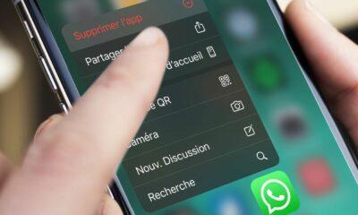 Supprimer WhatsApp iOS