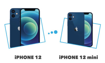 Comparatif iPhone 12 vs iPhone mini