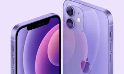 Apple iPhone 12 coloris violet