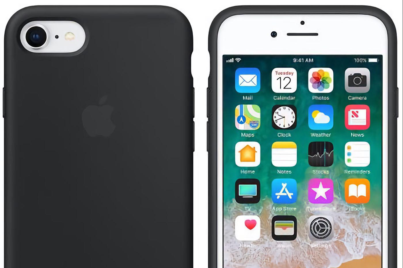 Coque silicone Apple iPhone 7, 8 et SE