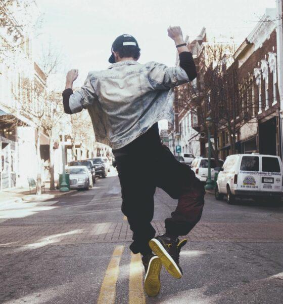 Danseur dans la rue