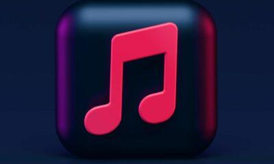 icône musique 3D