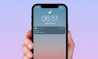 Astuce iMessage répétition alertes et notifications