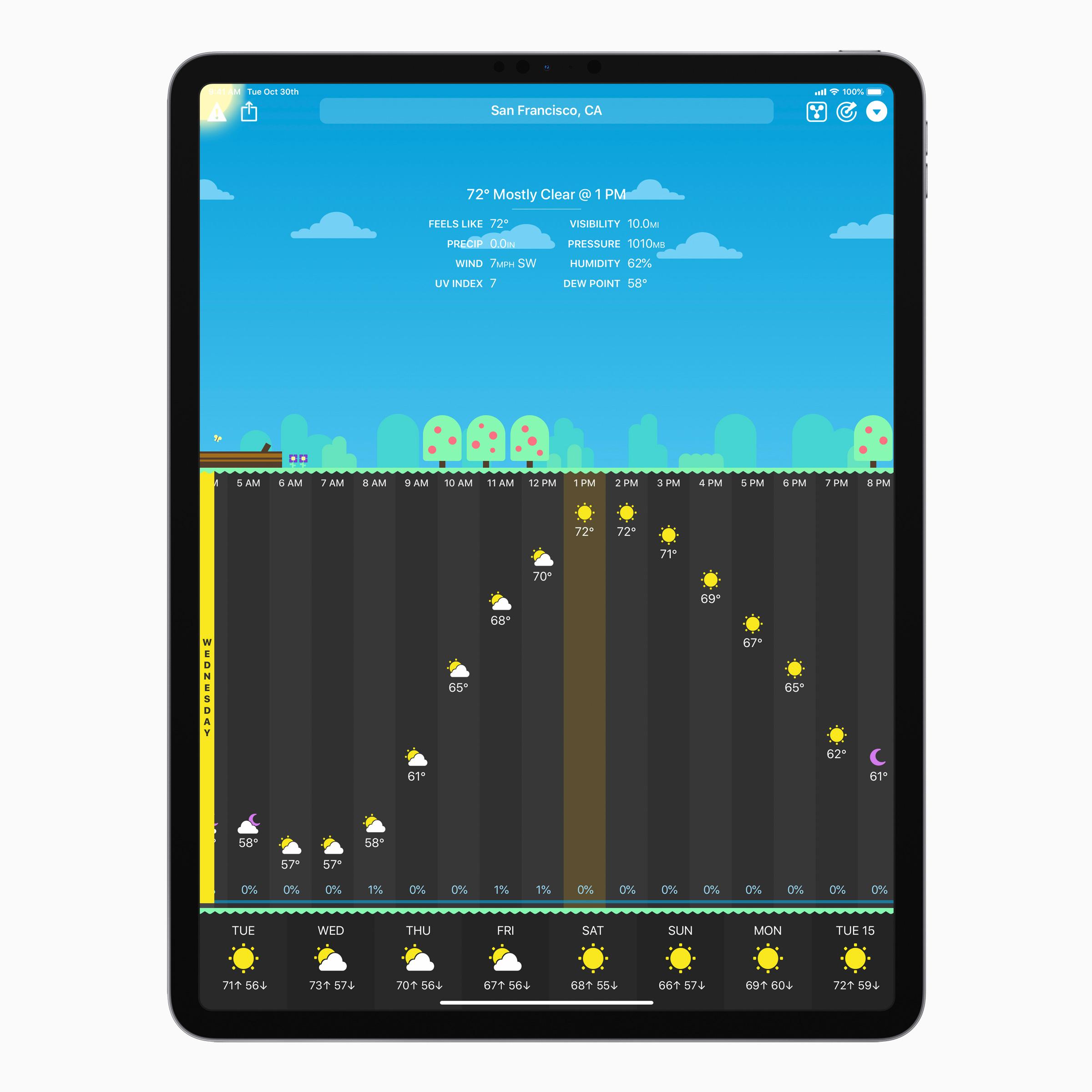 Carrot Weather app iOS