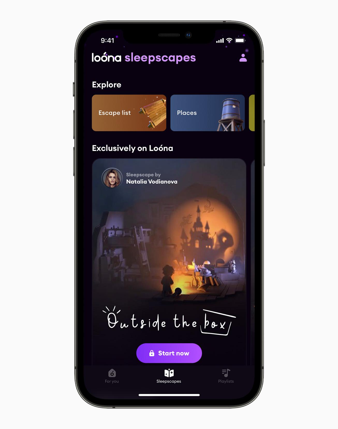 Loona app iOS