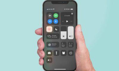 Centre de contrôle sur iPhone