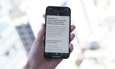 iPhone achat integre remboursement