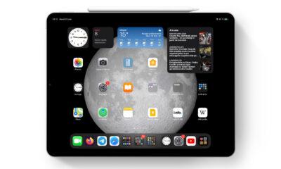 iPadOS 15 et écran d'accueil