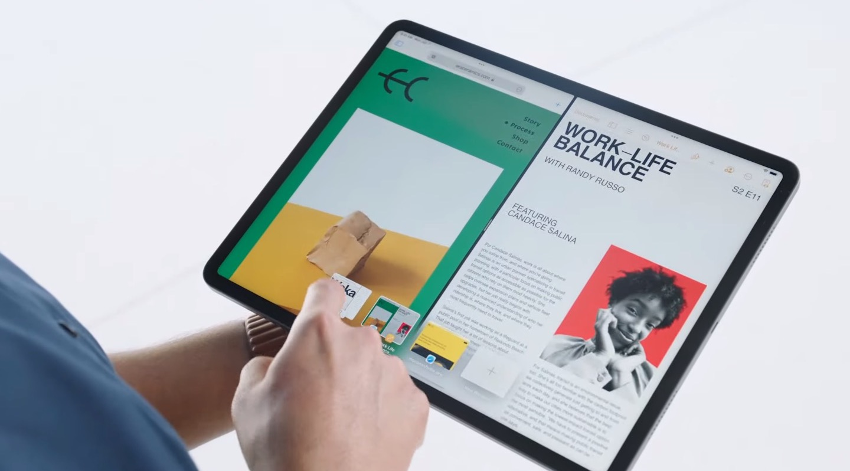 iPadOS 15 Split View