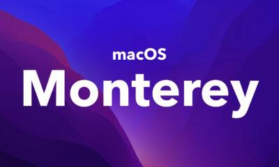 macOS Monterey fond d'écran sombre
