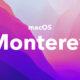 macOS Monterey fond d'écran