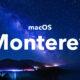 macOS Monterey nuit
