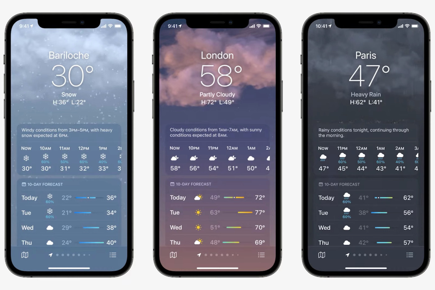 Meteo Apple 2021