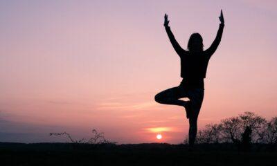 Yoga nature et soleil