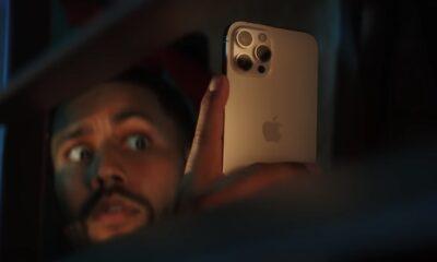 iPhone 12 Pro mode nuit selfie