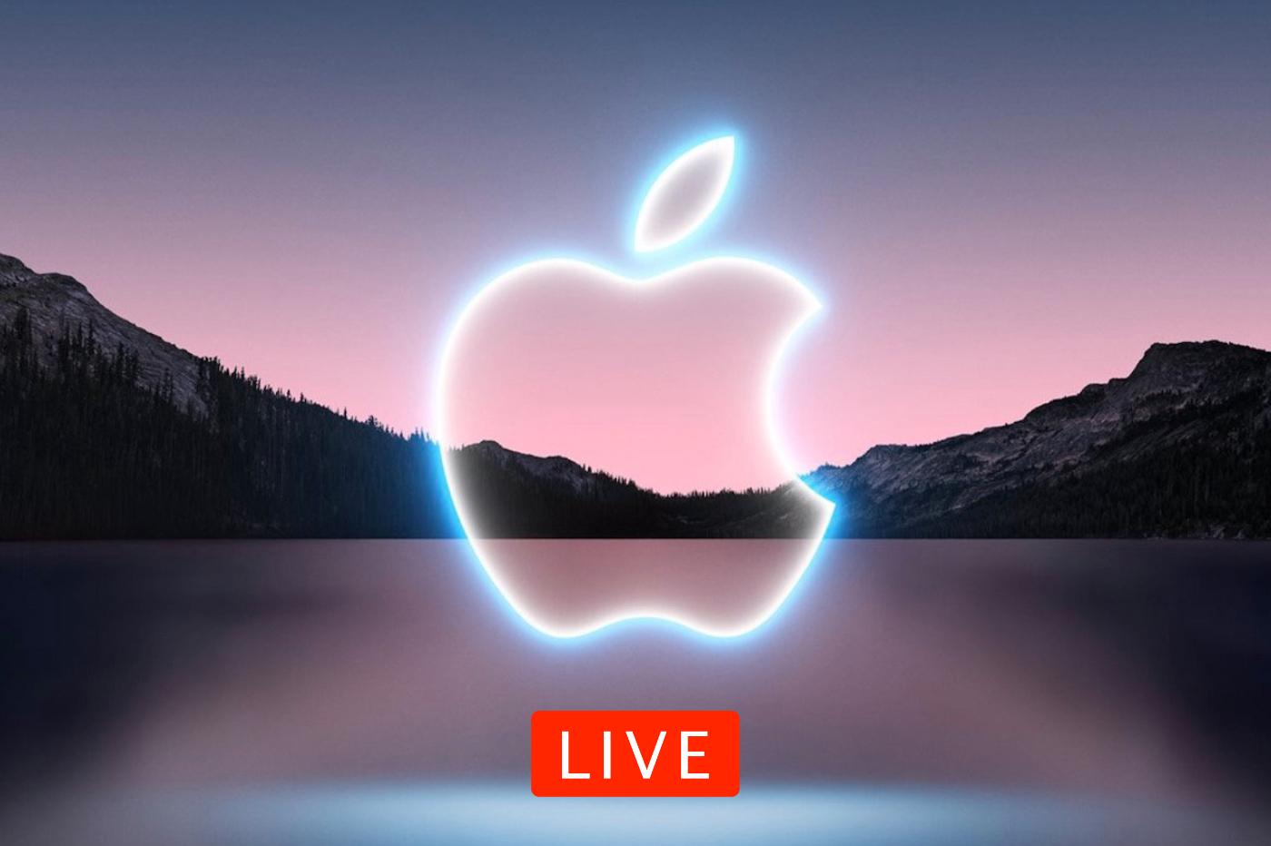 Suivi live Apple Event iPhone 13