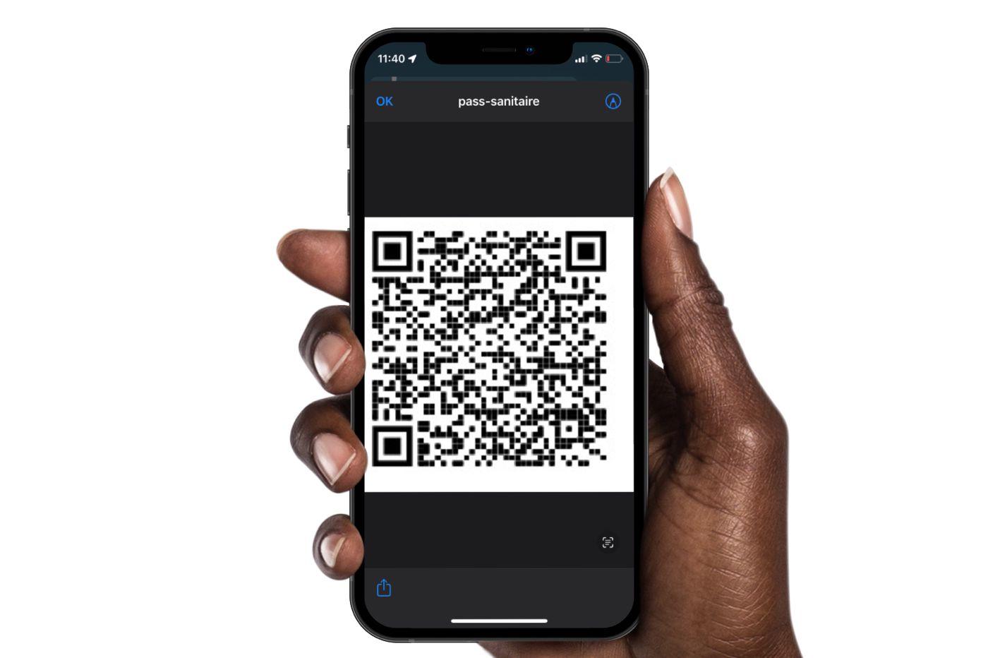 Pass sanitaire via Raccourcis iOS