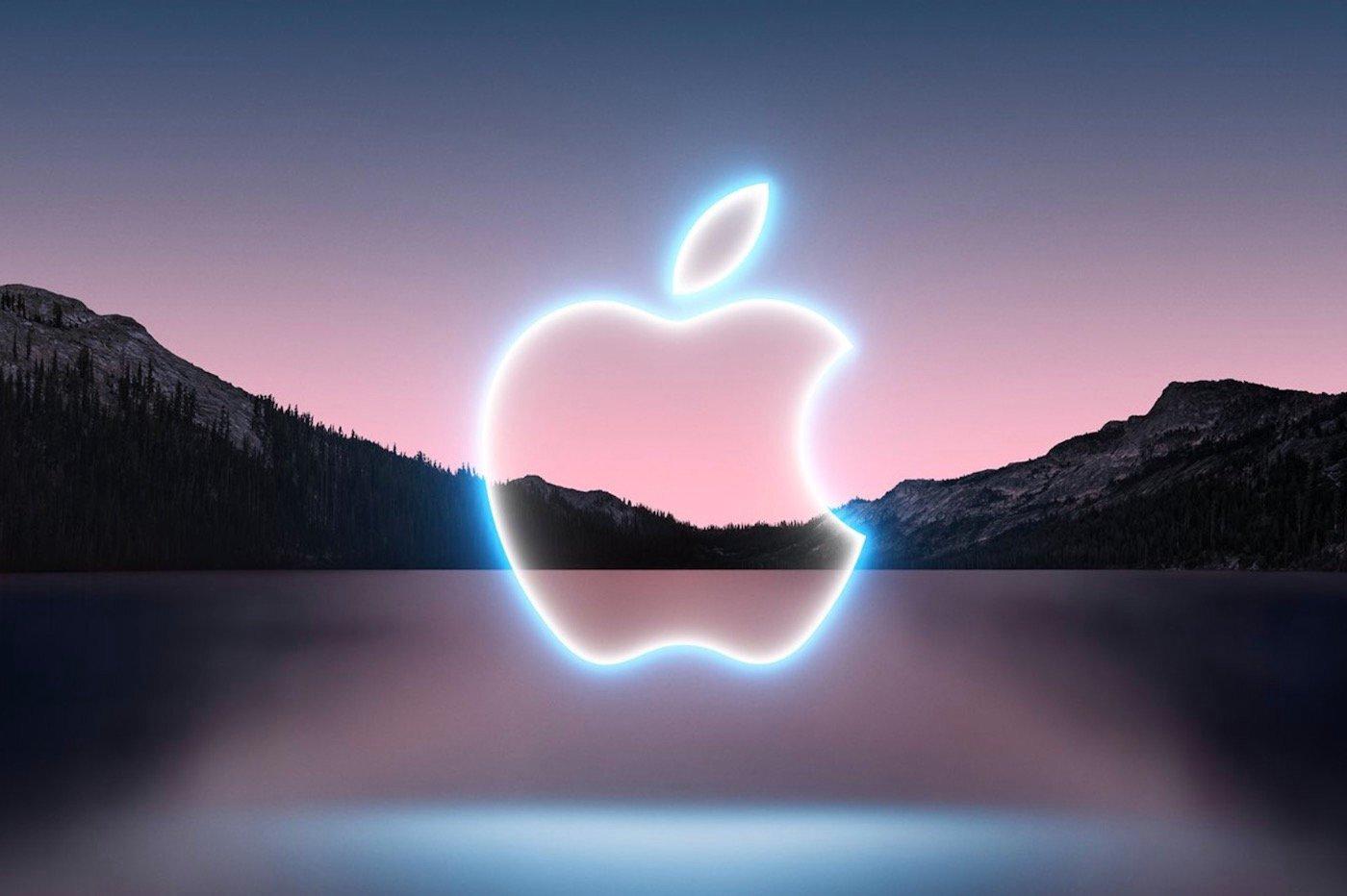 Logo Apple Keynote iPhone 13