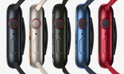 Apple Watch Series 7 coloris