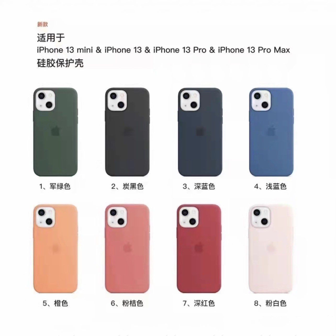 Coques iPhone 13 Apple