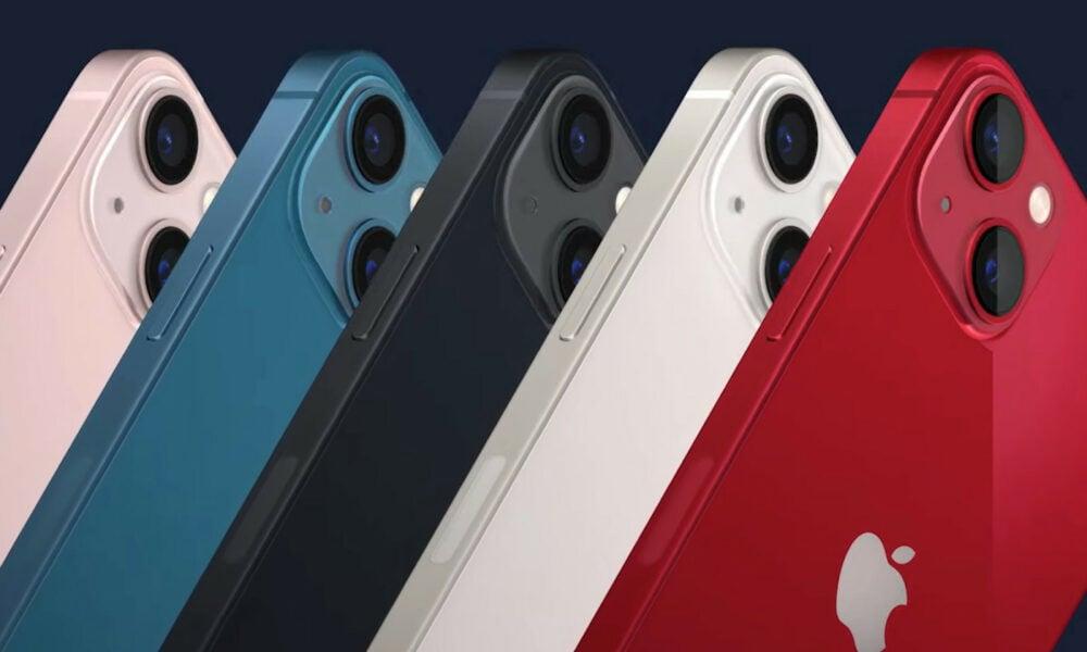 iPhone 13 coloris