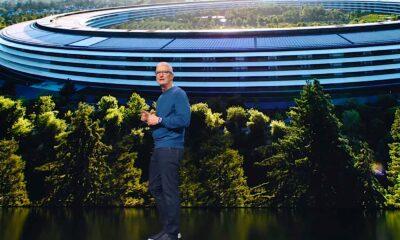Keynote Apple Park et Tim Cook
