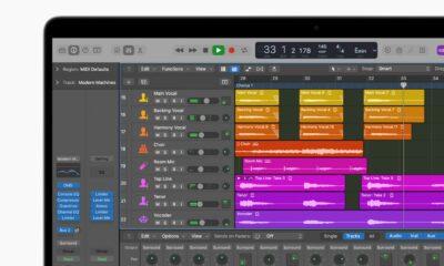 Apple Logic Pro sur MacBook Pro